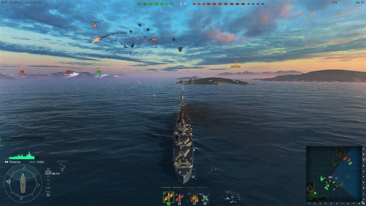 world of warships скачать на русском
