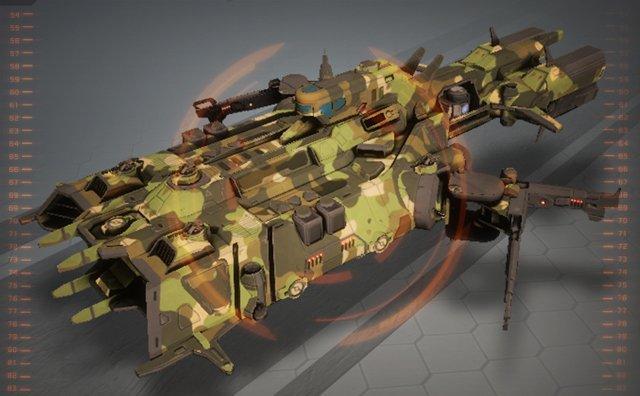 Star Conflict фрегат прикрытия