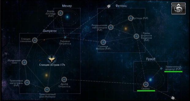 Star Conflict: поиск неодиума в Империи
