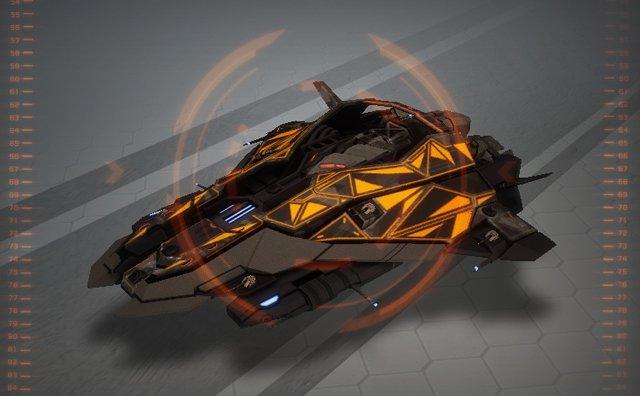 Star Conflict инженерный фрегат