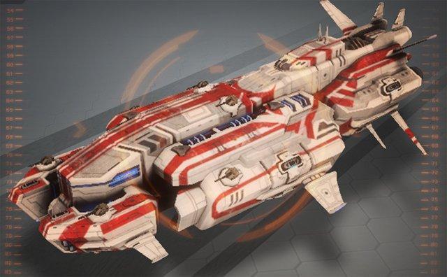 Star Conflict дальнобойный фрегат