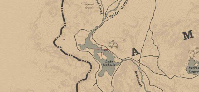 Легендарный белый бизон на карте