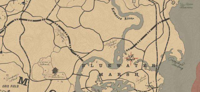 Легендарный кабан на карте