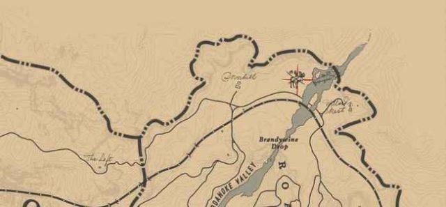 Легендарный лось на карте