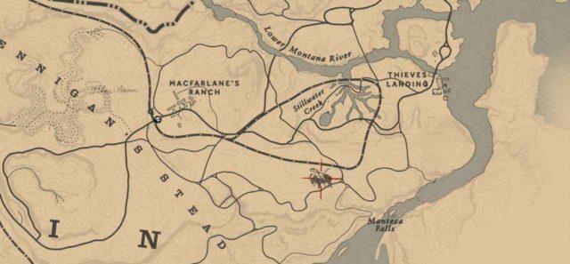 Легендарный бизон на карте